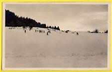 cpa 74 - ARÂCHE la FRASSE Piste des SKIEURS vers 1940 SPORTS d'HIVER Station Ski