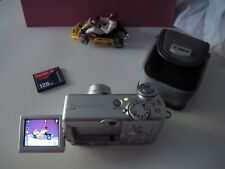 Canon PowerShot A95 5.0MP Digital Camera With Canon PowerShot Case + Flash Cards