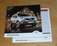 Kia Sportage Brochure 2012-2013 + Specifications 1 2 3 KX2 KX3 KX4 1.6 2.0 1.7