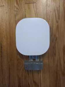 2013-2019 NISSAN SENTRA FUEL TANK GAS LID DOOR WHITE QM1 OEM