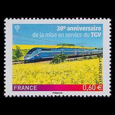 France 2011 - 30th Anniversary of the TGV Trains - Sc 4077 MNH
