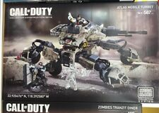 Call of Duty Atlas Mobile Turret Mega Bloks Collector Series Set CNG85