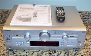 Panasonic SA-HE100 Home Theater 5.1 Surround Sound Receiver w/Remote, Bundle