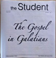 The Student  - The Gospel in Galatians - July 2017 (Braille for the blind)
