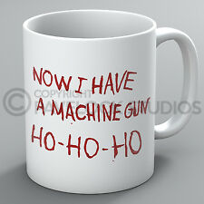 Now I Have A Machine Gun Mug Ho Ho Ho Die Hard Bruce Willis Funny Coffee Gift