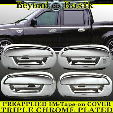 1997-2002 Ford Expedition chrome Door Handle Covers Overlays Trims W/out Keypad