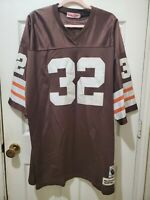 Jim Brown Authentic Mitchell Ness 1964 Jersey Size 56 SEE DESCRIPTION i1