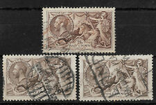 Great Britain Scott # 173 (3) Variety Vf Used nice color ! scv$350+ see pic !