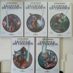 Lot complet 5 volume comics Star Wars Le cycle de Thrawn - delcourt
