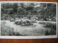 Hesketh Park, Flower Beds , Southport  Lancashire (RP) - posted 1924