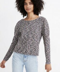 NEW Madewell Multicolor Knit Sweater Medium