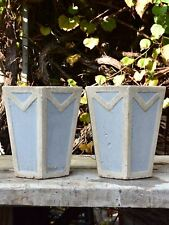 Pair of antique French planters