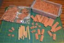 Maquette - gros lot de briques divers + de 500 pièces - teifoc