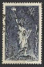 Statue liberté 1937 belle oblit ronde