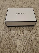 "Chanel gift Box folder pouch card 9 1/2"" x 7"""