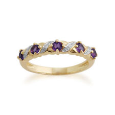 Heating Amethyst Yellow Gold Fine Jewellery