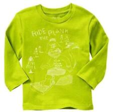 NWT 3T Baby GAP Kids Boys snowboarder graphic Ride The Plank Pirate Top NEW!