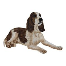 "ID 2754 Spaniel Dog Puppy Breed Embroidered Iron On Applique Patch  3.5"" Wide"