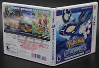 Pokémon Alpha Sapphire Nintendo 3DS Replacement Game Case Art Work NO GAME DISC