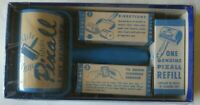 vintage Pixall Lint Remover with three refills and original box 1950s