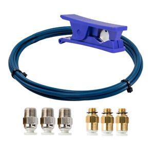 Capricorn PTFE Bowden Tubing XS Series 2M et Coupe-Tube pour Imprimante 3D F a5x