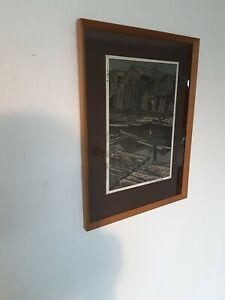 Shiro Karamatsu Original Japanese Woodblock Print
