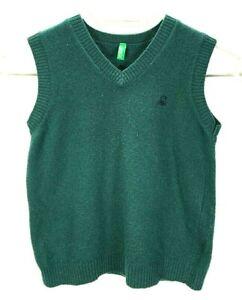 United Colors Of Benetton Kinder Strick Pullover Weste EUR 110