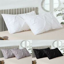 Shatex Pillow Shams Set of 2 Queen Size Soft Cooling Polyester microfibe Bedding