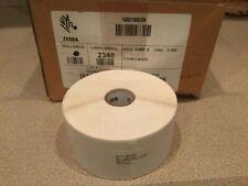 "4-pack: Zebra (2"" x 1"") Original Direct Thermal Label, Paper, Z-Perform 4000D"