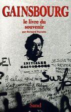 Gainsbourg - Le Livre du souvenir - Bernard Pascuito