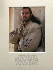 Liam Neeson signed 16x12 mounted Star Wars display AFTAL & UACC [15504] RARE