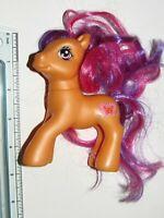 Butterfly : G3 2007 Hasbro MLP My Little Pony Brushable Figure : (D-3)