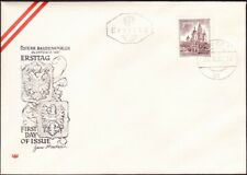 Austria - 1957 - 1 Schilling Chocolate Mariazell Church # 621 First Day Cover