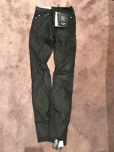 BLK DNM Women/'s Bond Black High Rise Jeans #WJ350103 27L $190 NWT