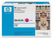 original HP Toner Q6463A  für 4730 Magenta Neu B