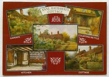 Anne Hathaway's Cottage Garden Kitchen Stratford-On-Avon Postcard (P264)