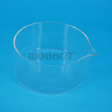 125mm Lab Glass Crystallizing Dishes with Spout Crystallization Experiment
