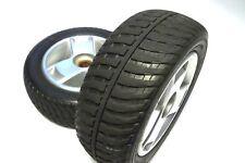 "8"" x 2.50"" Black Flat-Free Rear Wheels Tri-Spoke Rim for Go-Go & Elite Scooters"
