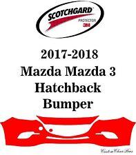 3M Scotchgard Paint Protection Film Clear Bra 2017 2018 Mazda Mazda 3 Hatchback