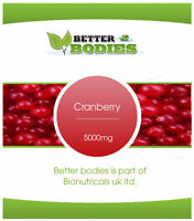Cranberry 5000mg Tablets  UK Vitamins Better bodies