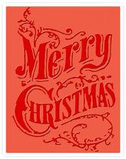 Sizzix Christmas Scroll Embossing folder #661609 Retail $4.99 designer Tim Holtz