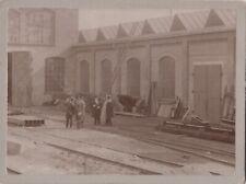 Orig.-Foto - BRAUNSCHWEIG - Maschinenfabrik  G. Luther - Hoher Besuch 1898