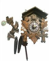 VINTAGE CUCKOO CLOCK, MADE IN GERMANY NEW IN A BOX.