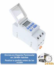 Temporizador programador reloj digital semanal din 220 v (Envio express)