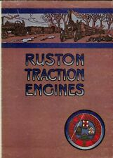 Ruston Traction Engines No. 3803 reprint