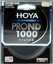 HOYA FILTRO PRO ND1000 ND 1000 10 STOP LIGHT LOSS NEUTRAL DENSITY 82 mm NUOVO