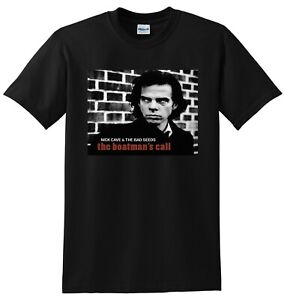 NICK CAVE T SHIRT the boatmans call vinyl cd cover SMALL MEDIUM LARGE or XL