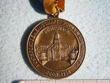 1983 STUTTGART BEZIRK POSTSPORTVEREIN SPORT GERMAN MEDAL MEDAILLE SCHWABISCH HAL