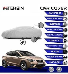 SEAT IBIZA Car Cover Fitted Waterproof Snow Rain UV Sun Dust