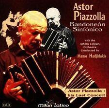 Manos Hadjidakis : Bandoneon Sinfonico 2 CD